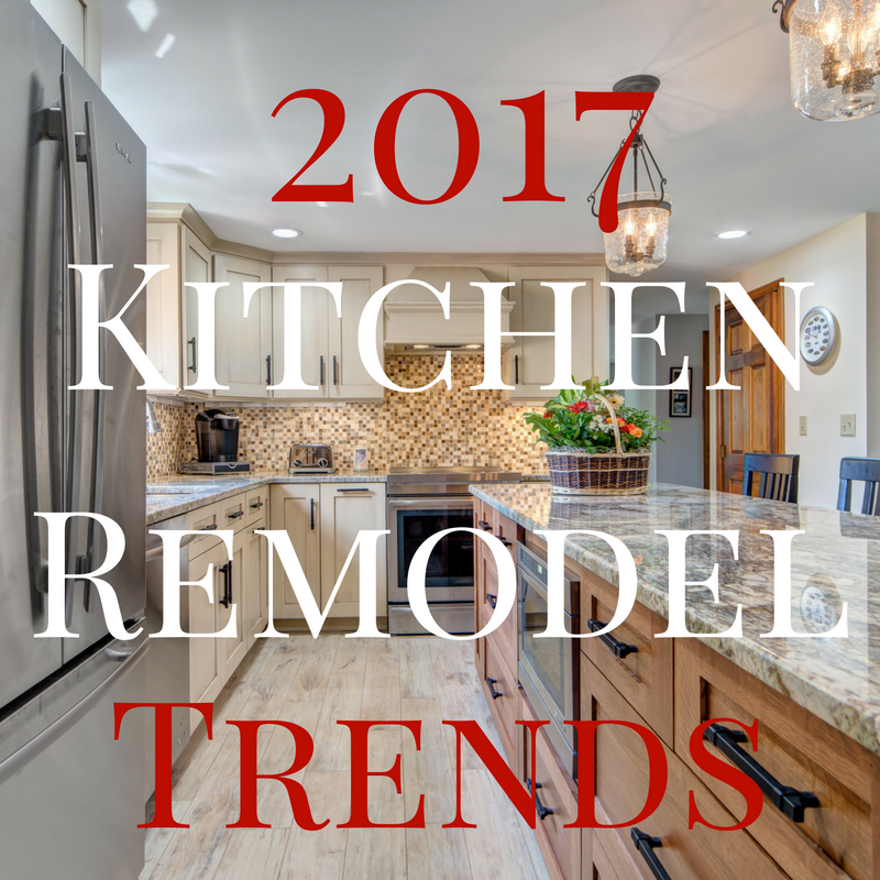 Kitchen remodeling trends for 2017 goedecke decorating for Kitchen remodel trends